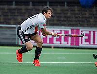 AMSTELVEEN - Boris Burkhardt (Adam)    tijdens de hoofdklasse competitiewedstrijd heren, AMSTERDAM-ROTTERDAM (2-2). . COPYRIGHT KOEN SUYK