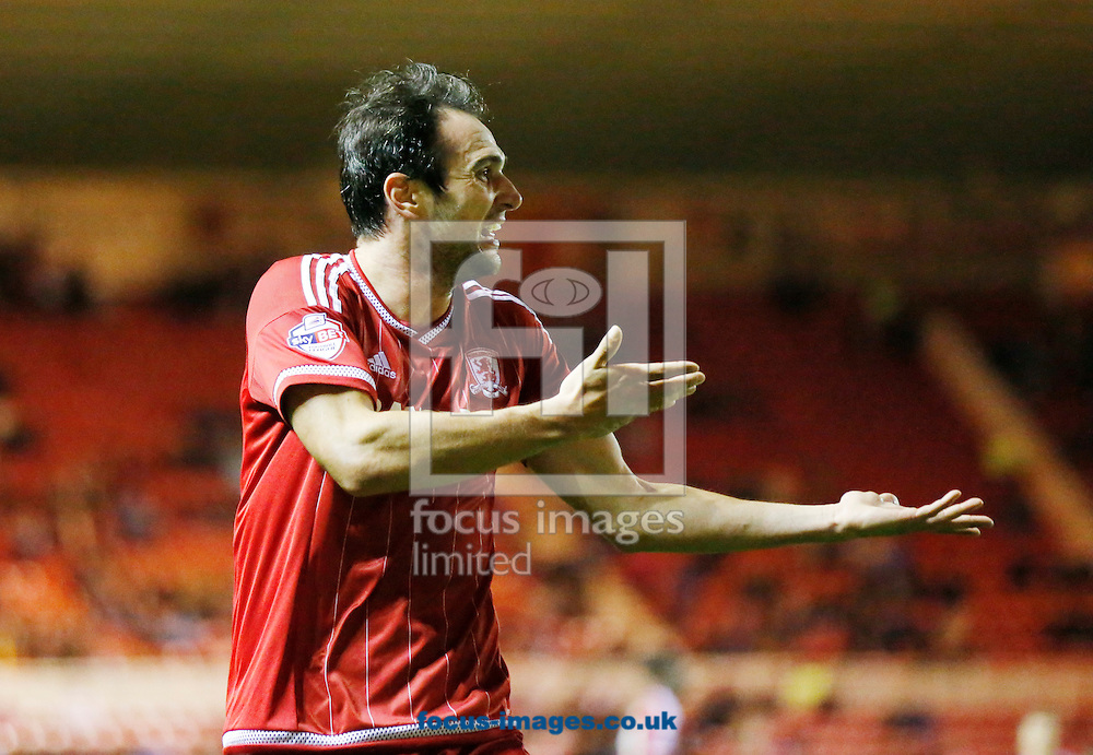Kike of Middlesbrough during the Capital One Cup match at the Riverside Stadium, Middlesbrough<br /> Picture by Simon Moore/Focus Images Ltd 07807 671782<br /> 22/09/2015