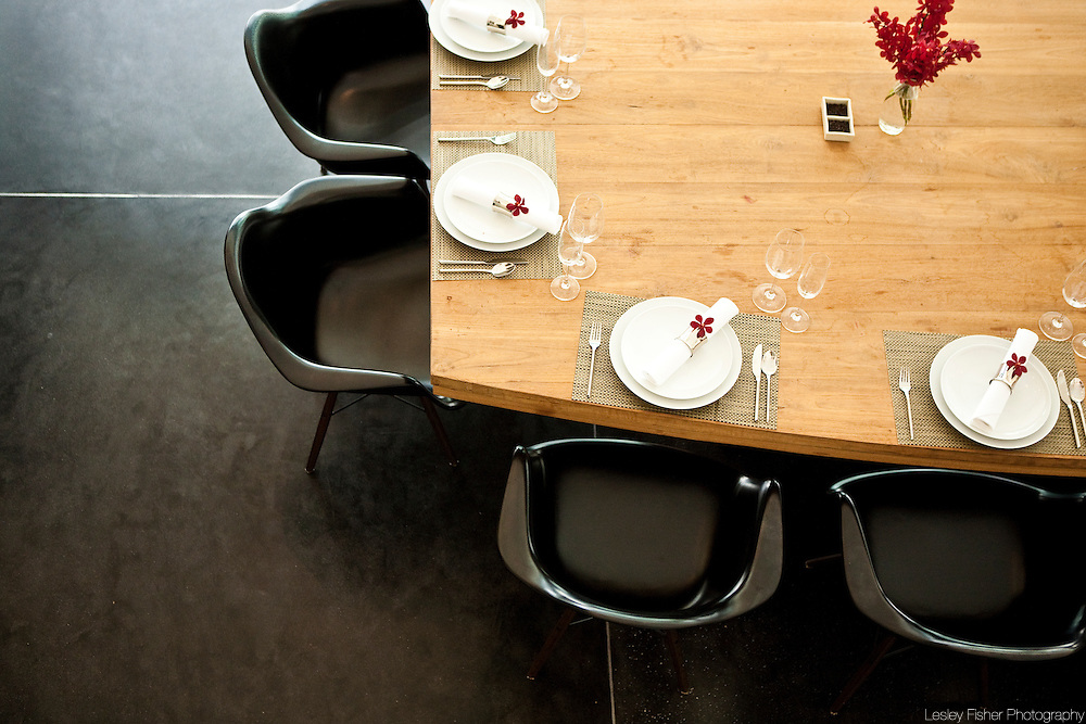 Dining Table of Baan Asan, Ban Taling Ngam, Koh Samui, Thailand