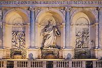Fontana dell'Acqua Felice, Rome, Italy
