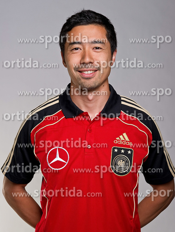 02.06.2010, Commerzbank-Arena, Frankfurt, GER, FIFA Worldcup, Spielerportraits, im Bild Masa Sakihana - Fitresscoach EXPA Pictures © 2010, PhotoCredit: EXPA/ nph/  Kokenge / SPORTIDA PHOTO AGENCY