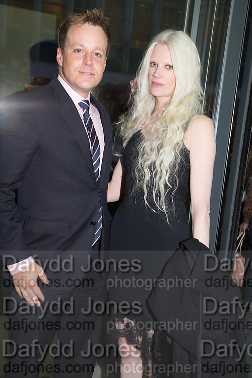 MICHAEL WARD STOUT; ERIC JOHNSON; KRISTEN MCMENAMY; IVOR BRAKA, Fashion Show: Robert Mapplethorpe. Alison Jacques Gallery. Berners St. London. 10 September 2013
