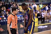 Mouhammadou Jaiteh<br /> FIAT Torino - Segafredo Virtus Bologna<br /> Lega Basket Serie A 2018-2019<br /> Torino 17/03/2019<br /> Foto M.Matta/Ciamillo & Castoria