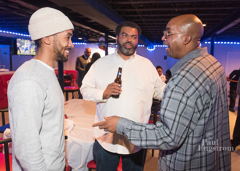 Osborn Neighborhood Association holds party at Detroit Blues Cafe on Gratiot Avenue.