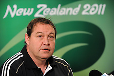 Auckland-Rugby,RWC, All Black press conference