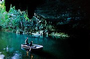 Branch River: a massive cave system, some of it unexplored in modern times.