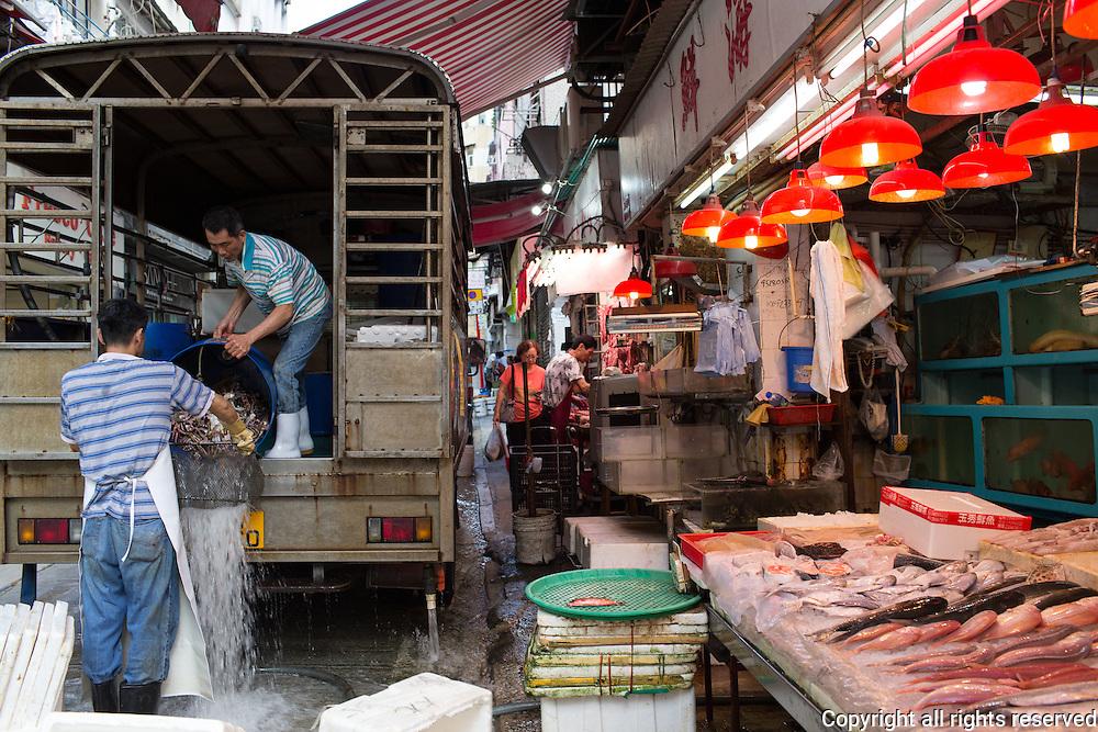 Connaught Road Market, Hong Kong