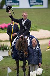 Schuttert Frank (NED) - Winchester HS <br /> Grand Prix Longines de la Ville de La Baule<br /> CSIO La Baule 2013<br /> © Dirk Caremans