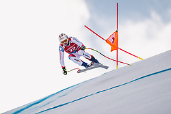 27.01.2019, Streif, Kitzbühel, AUT, FIS Weltcup Ski Alpin, SuperG, Herren, im Bild Urs Kryenbuehl (SUI) // Urs Kryenbuehl of Switzerland in action during his run in the men's Super-G of FIS ski alpine world cup at the Streif in Kitzbühel, Austria on 2019/01/27. EXPA Pictures © 2019, PhotoCredit: EXPA/ Johann Groder