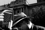 Peace rally outside San Francisco's City Hall, San Francisco, 2003