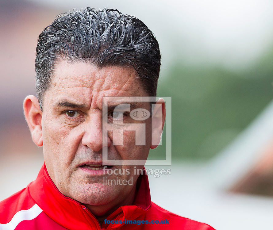 John Gregory, Manager of Crawley Town during the Sky Bet League 1 match at Broadfield Stadium, Crawley<br /> Picture by Paul Terry/Focus Images Ltd +44 7545 642257<br /> 06/09/2014