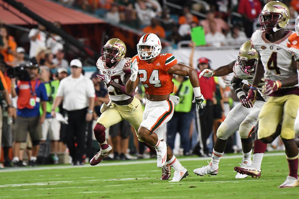 2016 Miami Hurricanes Football vs Florida State