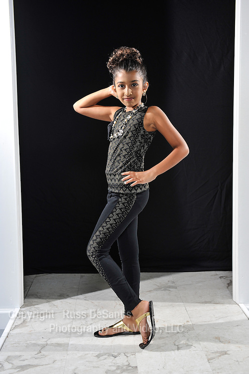 Layla Barthwal poses at Fashion Classes of New Jersey in Morganville on Friday, August 1, 2014. / ©Russ DeSantis Photography and Video, LLC