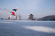 PYEONGCHANG-GUN, SOUTH KOREA - FEBRUARY 16: Simen Hegstad Krueger of Norway during the mens Cross Country 15k free technique at Alpensia Cross-Country Centre on February 16, 2018 in Pyeongchang-gun, South Korea. Photo by Nils Petter Nilsson/Ombrello               ***BETALBILD***