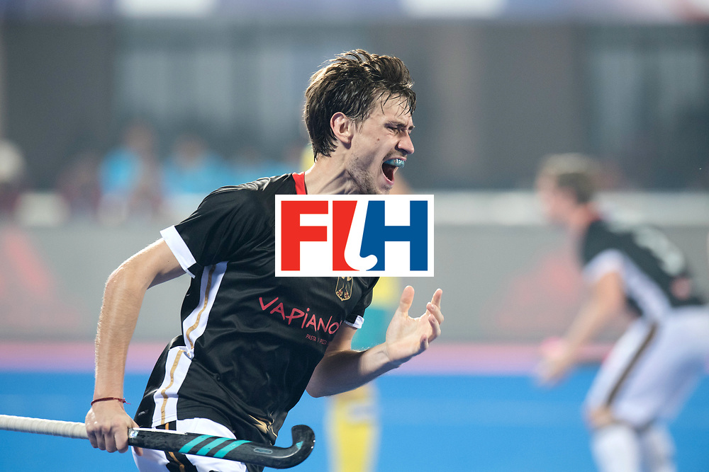 Odisha Men's Hockey World League Final Bhubaneswar 2017<br /> Match id:05<br /> 05 GER v AUS (Pool B)<br /> Foto: Florian Fuchs (Ger) disapointed after missing a change.<br /> WORLDSPORTPICS COPYRIGHT FRANK UIJLENBROEK