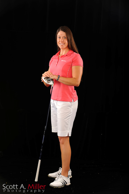 Izzy Beisiegel during a portrait shoot prior to the Symetra Tour's Florida's Natural Charity Classic at the Lake Region Yacht and Country Club on March 21, 2012 in Winter Haven, Fla. ..©2012 Scott A. Miller.
