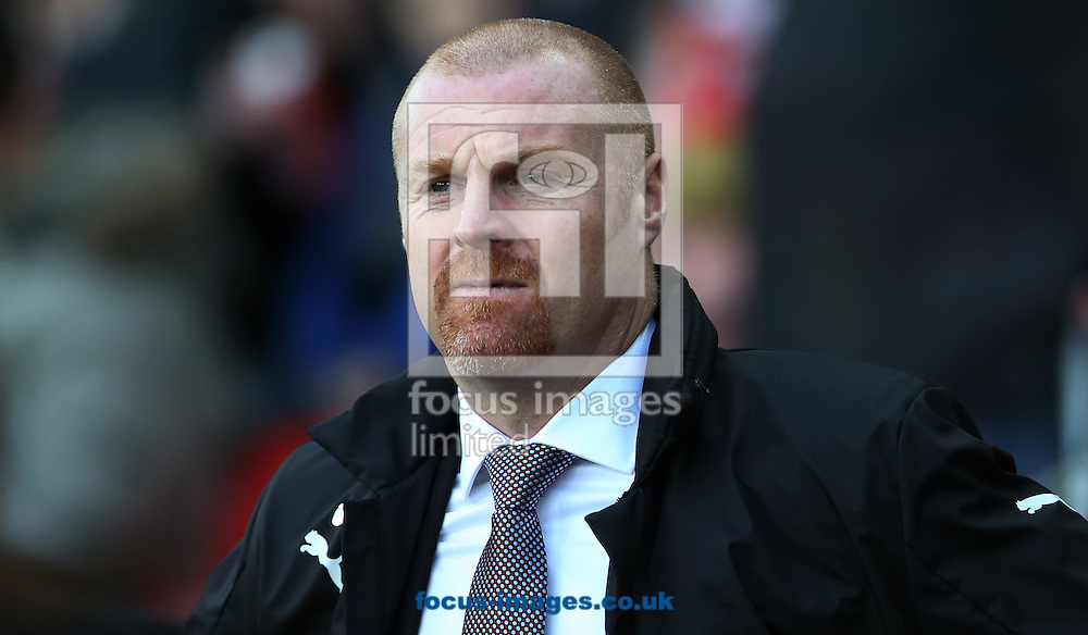 Burnley manager Sean Dyche prior to the third round of the FA Cup at the Stadium Of Light, Sunderland<br /> Picture by Simon Moore/Focus Images Ltd 07807 671782<br /> 07/01/2017