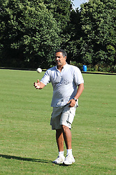 DALEY THOMPSON at the IWC Laureus Polo Cup Day 2008 held at Ham Polo Club, Surrey on 22nd June 2008.<br />