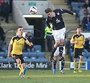 Jim McAlister and Stefan Scougall - Dundee v Livingston,  SPFL Championship at Dens Park<br /> <br />  - &copy; David Young - www.davidyoungphoto.co.uk - email: davidyoungphoto@gmail.com