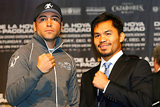 December 3, 2008: Oscar De La Hoya vs Manny Pacquiao Final Presser