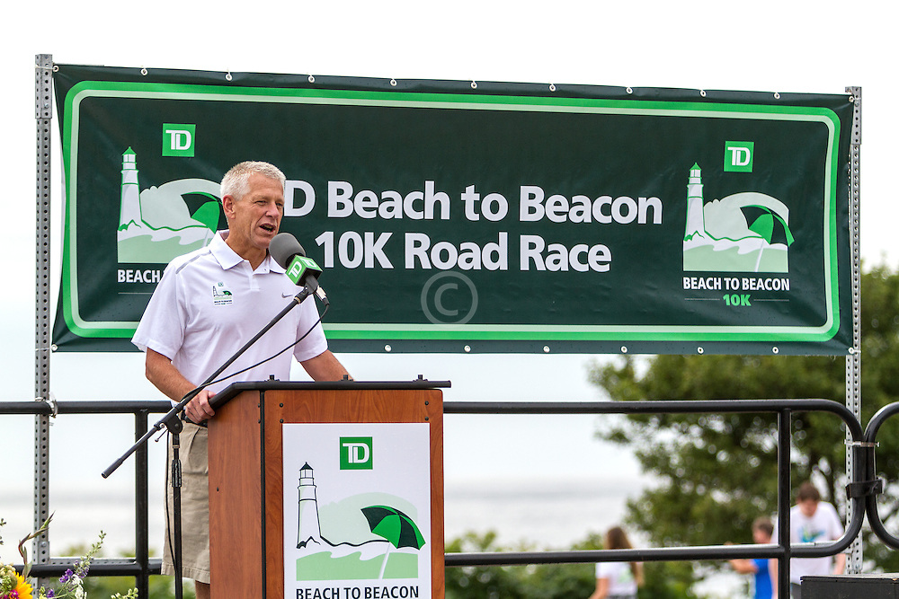 Beach to Beacon 10K road race: Larry Wold, TD Bank