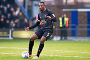 Mansfield Town defender Krystian Pearce in action during the EFL Sky Bet League 2 match between Macclesfield Town and Mansfield Town at Moss Rose, Macclesfield, United Kingdom on 16 November 2019.