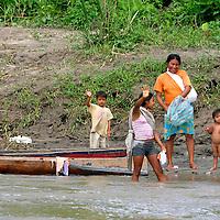 Alberto Carrera, Local People, Napo River Basin, Amazonia, Ecuador, South America, America<br /> <br /> EDITORIAL USE ONLY