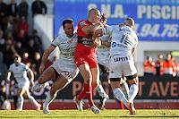 Bakkies BOTHA - 10.01.2015 - Toulon / Racing Metro - 16e journee Top 14<br />Photo : Jc Magnenet / Icon Sport