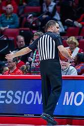 NORMAL, IL - December 07:  Gene Grimshaw during a college basketball game between the ISU Redbirds and the Morehead State Eagles on December 07 2019 at Redbird Arena in Normal, IL. (Photo by Alan Look)