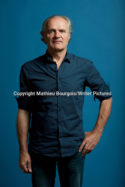 Pierre Bordage at Festival America, Vincennes, France<br /> 13th September 2014<br /> <br /> Picture by Mathieu Bourgois/Writer Pictures<br /> <br /> NO FRANCE