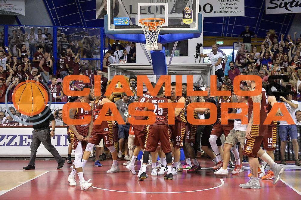Umana Reyer Venezia<br /> Venezia  18Giugno 2017<br /> Campionato Basket Lega A Fianale gara 5<br /> Umana Reyer Venezia vs Dolomiti Energia Trentino<br /> Foto ciamillo/Riccardo Gregolin