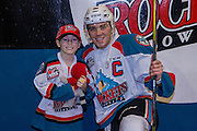 KELOWNA, CANADA - FEBRUARY 22:  Home Hardware Stick Boy with Rodney Southam #17 of the Kelowna Rockets at the Kelowna Rockets game on February 22, 2017 at Prospera Place in Kelowna, British Columbia, Canada.  (Photo By Cindy Rogers/Nyasa Photography,  *** Local Caption ***