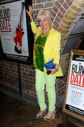 Denise Welch during Blind Date - press night, Charing Cross Theatre,  London, United Kingdom, 04 June 2013. Photo by Chris Joseph / i-Images.