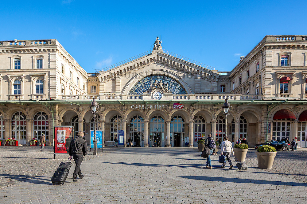 Gare de l'Est // Gare de l'Est train station