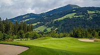 WESTENDORF -  Tirol   Oostenrijk,  -  hole 6 Golfanlage Kitzbuheler Alpen Westendorf.    COPYRIGHT KOEN SUYK