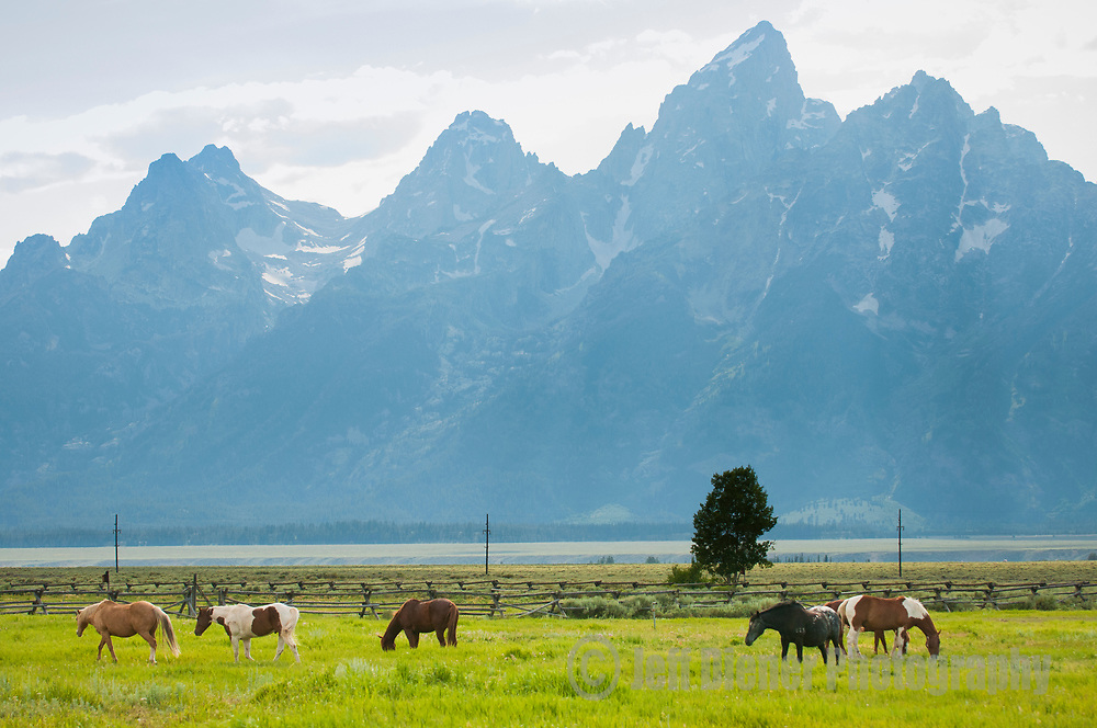 Lost Creek Ranch in Grand Teton National Park, Jackson Hole, Wyoming.
