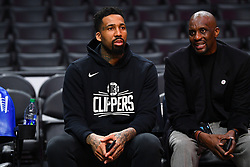February 13, 2019 - Los Angeles, CA, U.S. - LOS ANGELES, CA - FEBRUARY 13: Los Angeles Clippers Forward Wilson Chandler (22) looks on before a NBA game between the Phoenix Suns and the Los Angeles Clippers on February 13, 2019 at STAPLES Center in Los Angeles, CA. (Photo by Brian Rothmuller/Icon Sportswire) (Credit Image: © Brian Rothmuller/Icon SMI via ZUMA Press)