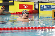 Boglarka Kapas (Hungary) European Champion of the 200 m Butterfly during the Swimming European Championships Glasgow 2018, at Tollcross International Swimming Centre, in Glasgow, Great Britain, Day 5, on August 6, 2018 - Photo Laurent Lairys / ProSportsImages / DPPI