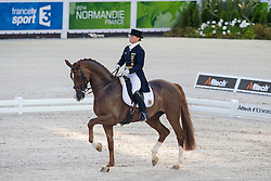 Isabell Werth, (GER), Bella Rose 2 - Grand Prix Team Competition Dressage - Alltech FEI World Equestrian Games™ 2014 - Normandy, France.<br /> © Hippo Foto Team - Leanjo de Koster<br /> 25/06/14