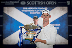 Aberdeen Standard Investments Scottish Open- Day Four - 15 July 2018