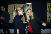 VIOLET VESTEY; DAVINA HARBORD, Sotheby's Frieze week party. New Bond St. London. 15 October 2014.