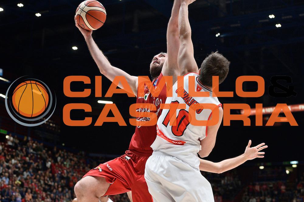 Milan Macvan <br /> EA7 Emporio Armani Olimpia Milano - Openjobmetis Pallacanestro Varese <br /> LegaBasket 2016/2017<br /> Milano 16/10/2016<br /> Foto Ciamillo-Castoria