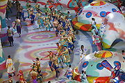 """General view,<br /> FEBRUARY 7, 2014 - Opening Ceremony : <br /> during the Opening Ceremony for The 2014 Olympic Winter Games <br /> at """"FISHT"""" Olympic Stadium <br /> during the Sochi 2014 Olympic Winter Games in Sochi, Russia. <br /> (Photo by Yusuke Nakanishi/AFLO SPORT)"""