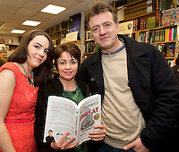 Founder of the Expect Success Academy, Galway based business and marketing strategist John Mulry launched his first book Your Elephant's Under Threat. At the launch was Jessica , Laura and Pat Thompson from Longford.<br /> Your Elephant's Under Threat will be available from www.amazon.com and Charlie Byrne&rsquo;s Bookshop Galway from February 28th and retails at &euro;19.99<br /> &nbsp;Photo:Andrew Downes