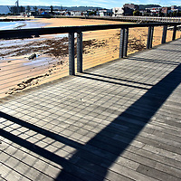 The Boardwalk along West Beach in Burnie, Australia <br />