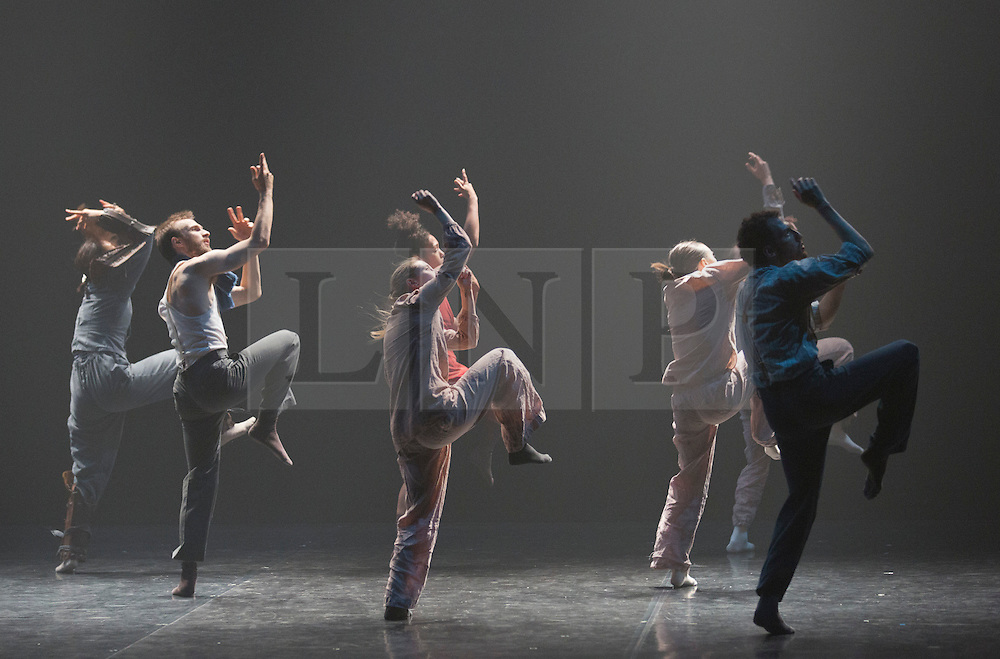 """© Licensed to London News Pictures. 03/07/2013. London, England. Hofesh Shechter's """"Political Mother: The Choreographer's Cut"""" closes the first ever Sadler's Sampled season, Sadler's Wells Theatre. The entire piece involved 16 dancers and 24 musicians and runs from 3 to 7 July. Photo credit: Bettina Strenske/LNP"""