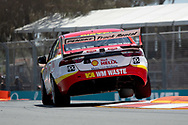 Fabian Coulthard in the Shell V-Power Racing Team Ford Falcon during Friday practice at The 2018 Vodafone Supercar Gold Coast 600 in Queensland.