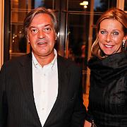 NLD/Amsterdam/20100911 - Modeshow Mart Visser najaar 2010, Jan Dirk Paarlberg en partner