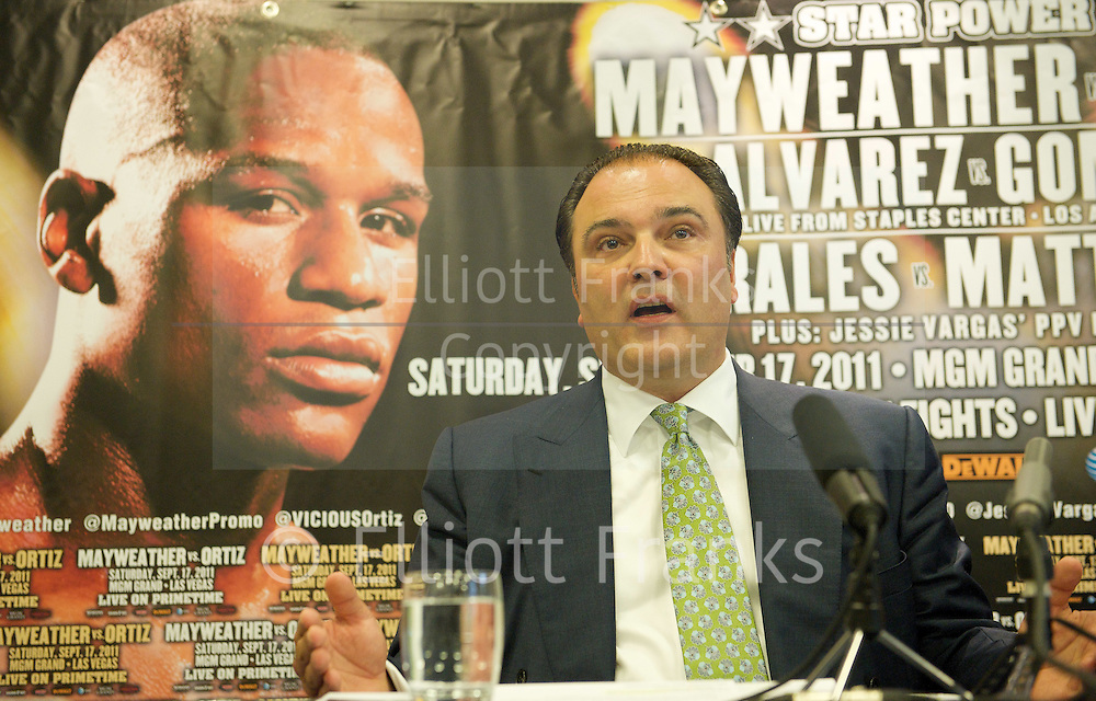 Pay-Per-View King Floyd &quot;Money&quot; Mayweather shoots for global domination with September 17 Bout.<br />