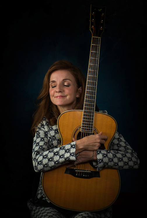Patty Griffin, photographed at the Hotel Saint Cecilia in Austin, Texas.